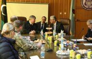 السفير الأميركي زار مصراتة والتقى باشاغا والحداد