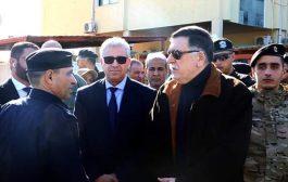 رئيس المجلس الرئاسي يقوم بزيارة إلى مطار طرابلس ومنطقة قصر بن غشير