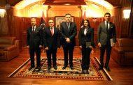 رئيس المجلس الرئاسي يقبل أوراق اعتماد السفراء الجدد لمالطا وتركيا وإيطاليا