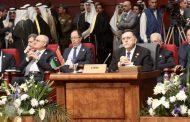 رئيس المجلس الرئاسي يلقي كلمة ليبيا في افتتاح القمة العربية الأوروبية في شرم الشيخ