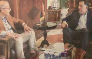 اجتماع في طرابلس بين السراج والكبير