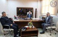 وزير الداخلية المفوض يلتقي رئيس جهاز الشرطة السياحية وحماية الآثار