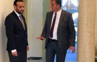 وكيل عام الوزارة يتفقد أعمال الصيانة في مجمع عيادات زاوية الدهماني