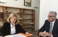 السفيرة الفرنسية تؤكد ضرورة الاستمرار في التعاون الثنائي بين فرنسا وليبيا