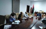وحدة دعم وتمكين المرأة بالمجلس الرئاسي تناقش استراتجية مكتب دعم وتمكين المرأة بوزارة العمل