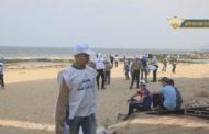 بلدية زوارة تنظم حملة لتنظيف الشواطئ