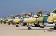 سلاح الجو الليبي يستهدف غرفة عمليات حفتر بمحور وادي الربيع وجنوب مزدة