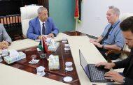 وزارة الحكم المحلي تجتمع بمكتب الأمم المتحدة للشؤون الانسانية