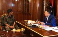 رئيس المجلس الرئاسي يجتمع مع رئيس جهاز مكافحة الإرهاب
