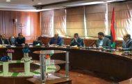 اجتماع بين وزير المالية وعدد من قيادات الشركة العامة للكهرباء
