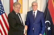 سفير واشنطن الجديد يبحث مع وزير الداخلية الاوضاع المترتبة عن العدوان على العاصمة