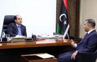 ملفات بحثها النائب الرئاسي أحمد معيتيق في اجتماعات بعدد من المسؤولين في طرابلس