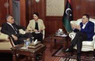 رئيس المجلس الرئاسي يلتقي السفير الإيطالي لدى ليبيا السيد