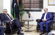 محور لقاء معيتيق بالسفير الإيطالي