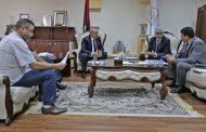 وزير الداخلية السيد فتحي باشاغا يجتمع  مع رئيس ديوان المحاسبة ورئيس مصلحة الجوازات والجنسية