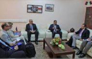 باشاغا يجتمع مع ويليامز ورئيس مفوضية شؤون اللاجئين ومنظمة الهجرة الدولية