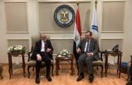 صنع الله يلتقي وزير النفط المصري