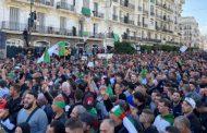 آلاف الجزائريين يتظاهرون في الجمعة ال 37 رفضا للانتخابات القادمة