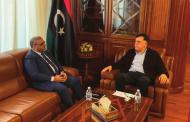 السيد رئيس المجلس الرئاسي يلتقي رئيس المجلس الأعلى الدولة