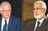 وزير خارجية الوفاق يجري اتصالا هاتفيا مع مسؤول السياسة الخارجية بالاتحاد الأوروبي