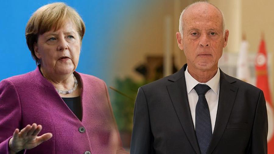 تونس وألمانيا تؤكد أن التمسك بالشريعة الدولية في ليبيا