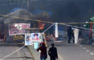 قوات الأمن العراقية تهاجم موقعا للاحتجاجات في بغداداستخدمت الرصاص الحي والغاز المسيل للدموع..