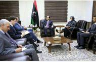 نائب رئيس المجلس الرئاسي يلتقي القائم بأعمال سفارة المملكة المتحدة لدى ليبيا