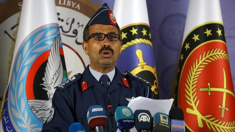 قوات الوفاق تتعامل مع ثلاثة مدافع وتجمع للمشاة تابع لحفتر
