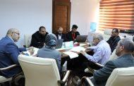 اجتماع بالمركز الوطني لمكافحة الأمراض