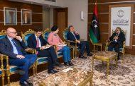 المشري يبحث مع السفير الإيطالي الوضع في ليبيا